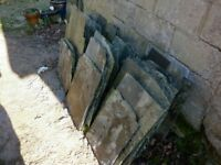 Roofing slates. Delabole Rag Slates. Will cover approximately 13-14m2 of roof. tel 07851933727