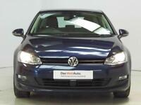 Volkswagen Golf MATCH TSI BLUEMOTION TECHNOLOGY (blue) 2014-09-26