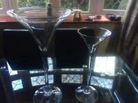 Wedding martini glasses