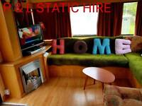 6 berth static caravan for hire Mablethorpe Static Holiday Hire