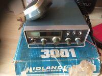 Midland precision series 3001 40 channel CB radio