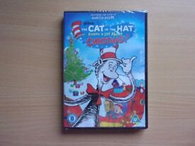 THE CAT IN THE HAT KNOWS ALOT ABOUT CHRISTMAS. THE DR. SEUSS CLASSIC. BRAND NEW AND SEALED DVD.