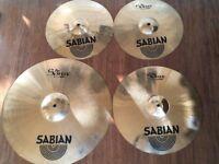 Wokingham Drum Sales - Sabian Pro Sonix B8 Cymbal Set And Sabian Cymbal Bag