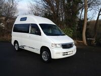 HI SPEC 02 NEW SHAPE MAZDA BONGO HIGH TOP/LOW MILES 64000 + WITH BIMTA CERTIFICATE/MAINS HOOK UP/