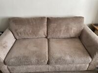 Large 2 seater and cuddle chair