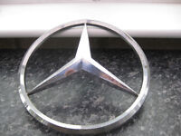 VINTAGE MERCEDES BADGE FROM HEAVY GOODS WAGON