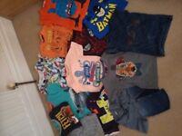 Boys tshirt bundle age 3-4
