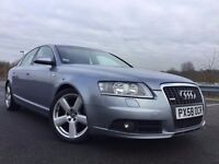2008 AUDI A6 S LINE, FULL LEATHER+SERVICE HISTORY