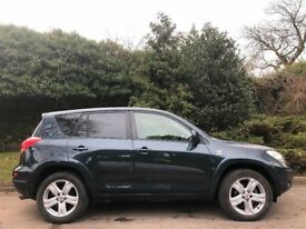 TOYOTA RAV4 T-180, 07 REG, 82K GENUINE MILES, FDSH, HPI CLEAR, LEATHER, DELIVERY AVAILABLE, MINT