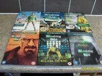 Breaking Bad 1-6 Dvd