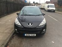 PEUGEOT 207 ALLURE 2012 DEISEL £30 A YEAR ROAD TAX LOW MILES 50000