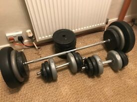 Barbell, Dumbbells and Weights