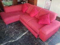 ROM CORNER SOFA FOUR SEATERS PLUS DOUBLE BED