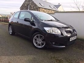 immaculate 2008 Auris Diesel Hatchback 2.0 D-4d T3 3dr , trade in considered, credit cards accepted.