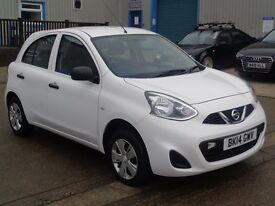 Nissan Micra 1.2 Visia 5dr..0% Deposit. Finance Available