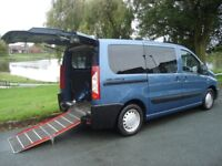2010 peugeot expert tepee 1.6HDI,WAV Wheelchair access vehicle 6 seater + wheelchair 1 owner..