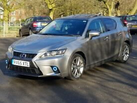 lexus ct200h 1.8 hybrid advance plus not prius or auris