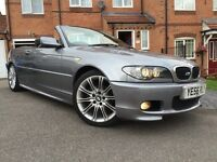 06/56 BMW 318ci M SPORT CAB CABRIOLET CONVERTIBLE SUMMER BARGAIN