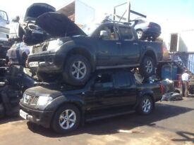2006-2009 NISSAN NAVARA D40 2.5 DCI YD25 BREAKING FOR PARTS & SPARES MANUAL OR AUTO MANY COLOURS