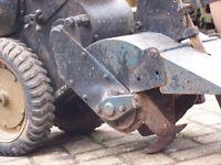 Landmaster rotovator, rotary hoe. Vintage full working order