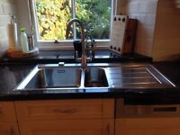 Franke 1.5 stainless steel kitchen sink