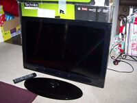 Technika 32 Inch Full HD 1080p Slim LED TV DVD Combi With Freeview HD