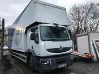 Renault Midlum 18 Ton box Truck 2007 220 dxi