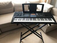 Yamaha PSR E333 Electric Keyboard, almost New