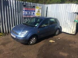 breaking for spares ford fiesta 1.4 tdci 2003