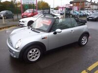 Mini cooper,1.6cc convertible,stunning mini,FSH,convertible for summer,hood up for winter,MM06YDK