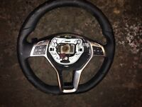 Mercedes steering wheel paddle shift