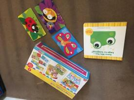 Baby puzzles and books toddler 1 year +
