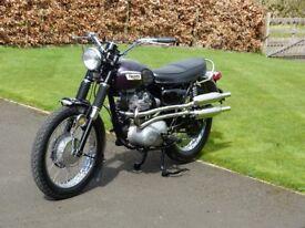 Triumph 500 T100C 1969