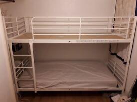 IKEA Tromsö bunk bed, white