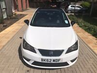 2013 SEAT IBIZA SE 1.4 PETOL, 5DR SEAT SERVICES, STUNNING LOOK, FULL MOT HPI CLEAR VERY LOVELY DRIVE