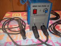 TECARC MMA 166C DUEL 0-160A INVERTER STICK WELDER ,full control,very lightweight