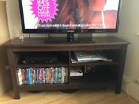 Ikea BRUSALI tv bench with adjustable shelves
