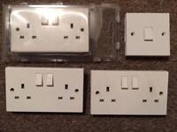 Light switch & 3 double sockets