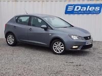 Seat Ibiza 1.6 TDI CR SE 5Dr Hatchback (grey) 2013