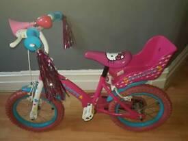 Hello Kitty bike & Skates