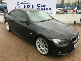 BMW 3 SERIES 2.0 320I M SPORT 2d 168 BHP A GREAT EXAMPLE INSIDE AND OUT (black) 2008