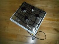 Gas Hob cooker HOTPOINT GC6401X new un-used