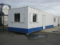 """32ft x 10ft Anti Vandal Portable Cabin Site Office Welfare Unit """"IN STOCK"""" shipping container shed"""
