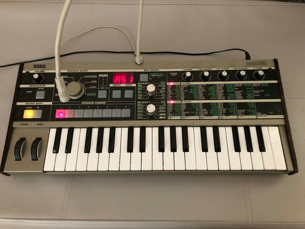 Korg Microkorg with power lead, vocoder and manual £200 | in County Antrim  | Gumtree