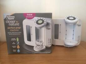 Tommee Tippee Perfect Prep Machine and Sterilisers