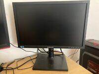 Samsung 19inch monitor, VGA and DVI