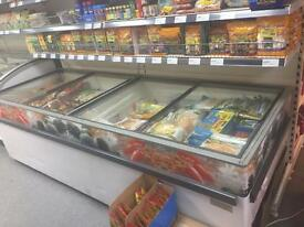 Chest freezer commercial