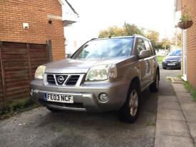 Nissan Xtrail Leather Interior MOT till April, FSH, 4 Brand New Tyres! Spares Repair 4x4 SUV