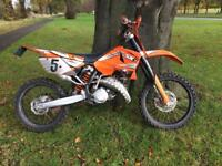 2006 Road legal Ktm sx125 mot sep 2018 registered v5 125 learner Bike mx enduro motocross 125cc