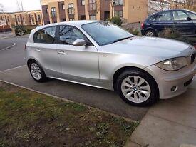 2006 BMW 1 SERIES 1.6 5 DOOR SILVER